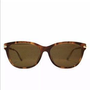 NWT GUCCI Brown sunglasses Glasses and CASE